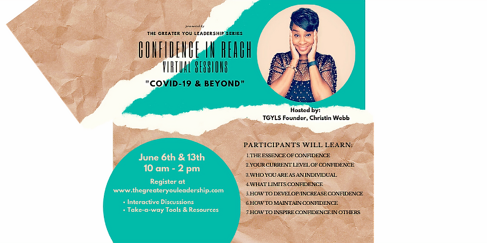 Confidence In Reach - Virtual Sessions