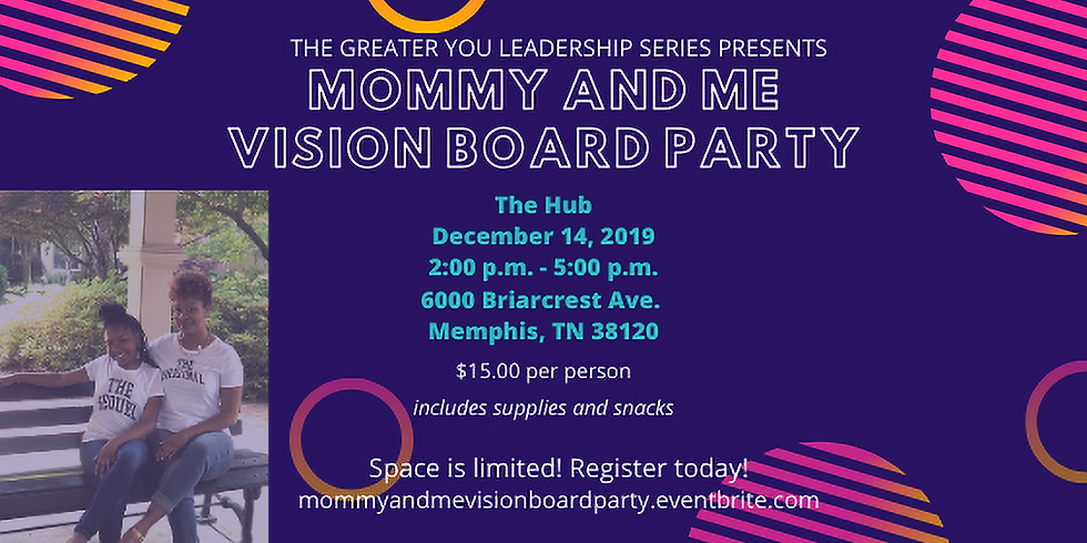 Mommy and Me Vision Board Party