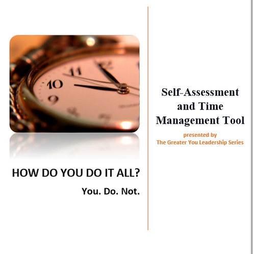 Self-Assessment and Time Management Tool
