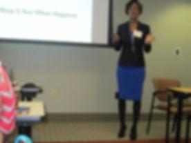 Speaker Christin Webb
