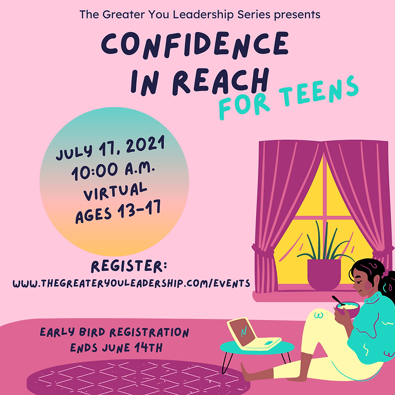 Confidence In Reach for Teens