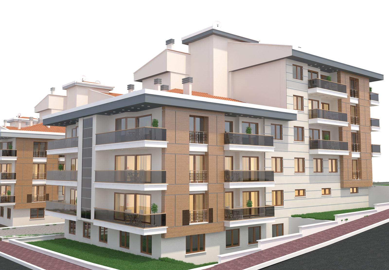 3636 m2 ALANDA YAŞAM SİTESİ