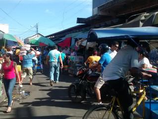 Les rues de Chinandega