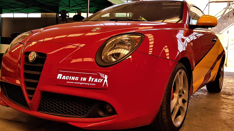 Test Drive Alfa Romeo MiTo Race Car on a Race Track | Milan