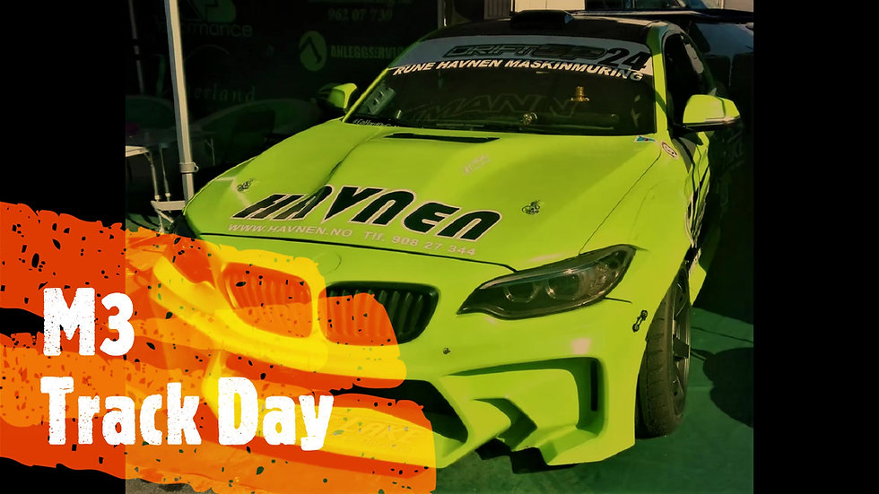 Track day with BMW M3 Race car in Italy and Europe