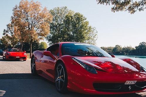 A trip with luxury cars in Northern Italy | Ferrari | Shopping | Culinary