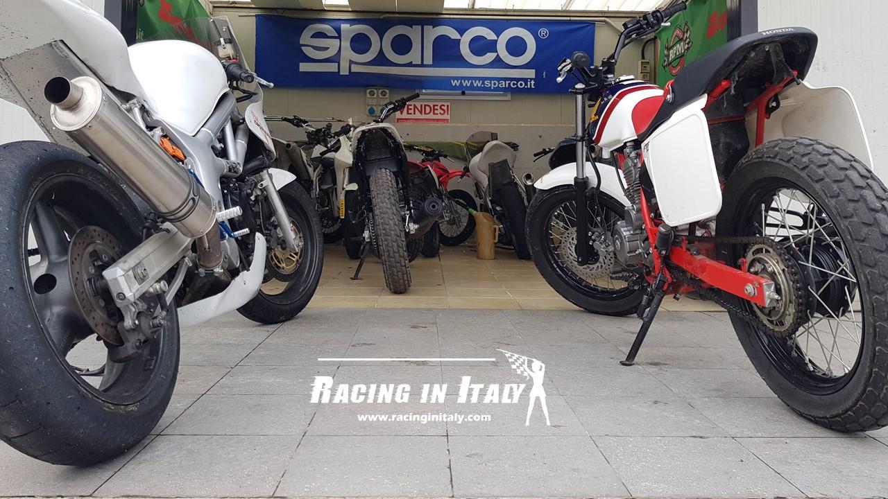 Yamaha Supermoto WR450F and suzuki SV650cc