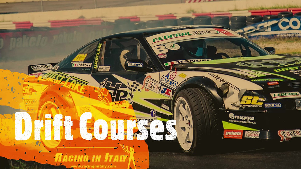 Drift Racing Course with a Race Prepared Car | Milan | Italy