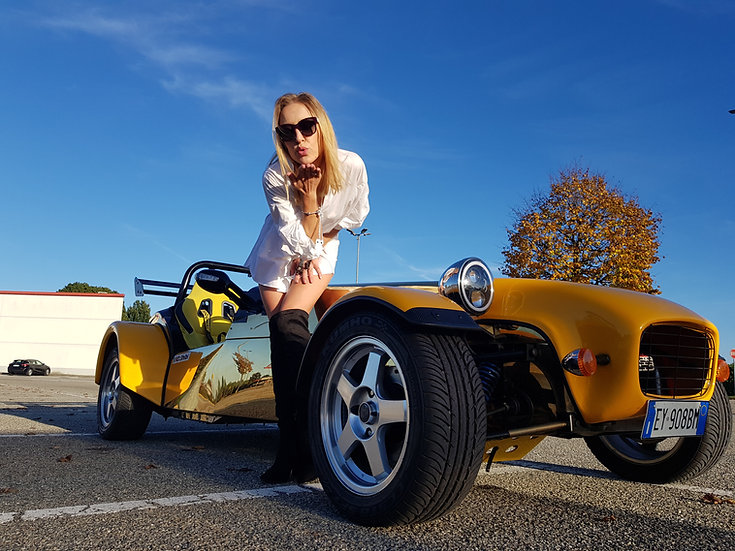 Test Drive and ride a Super 7 on a Race Track   Milan