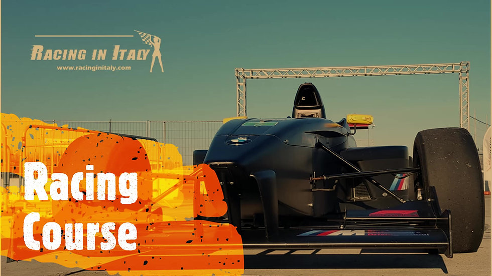 Racing course on a formula 4 including Ferrari experience and video | Italy