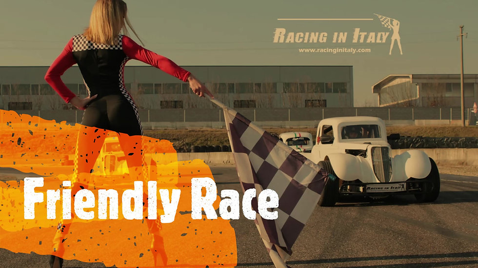 Friendly Race between friends with Single Seater Race Cars in Milan | Italy