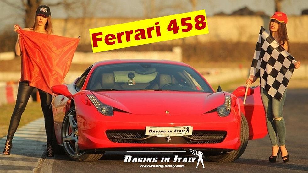 Guida una Ferrari 458 in pista include video | Tutta Italia