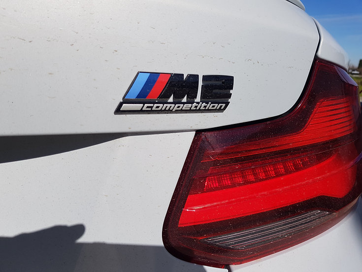 Test Drive BMW M2 Competition on a Race Track near Milan