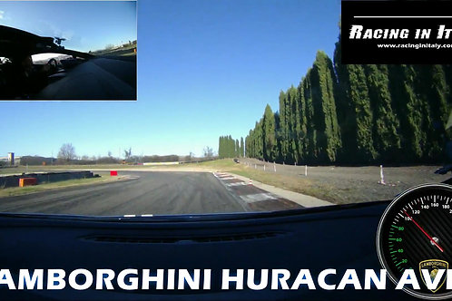 Тест драйв Lamborghini Huracan Avio в Италии