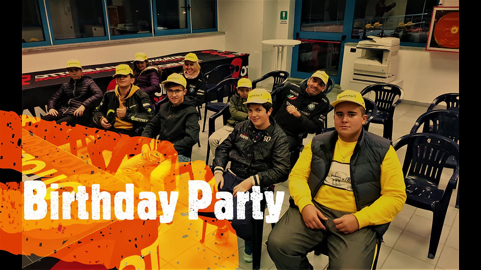 Kids Birthday Party at the Race Track near Milan | Italy