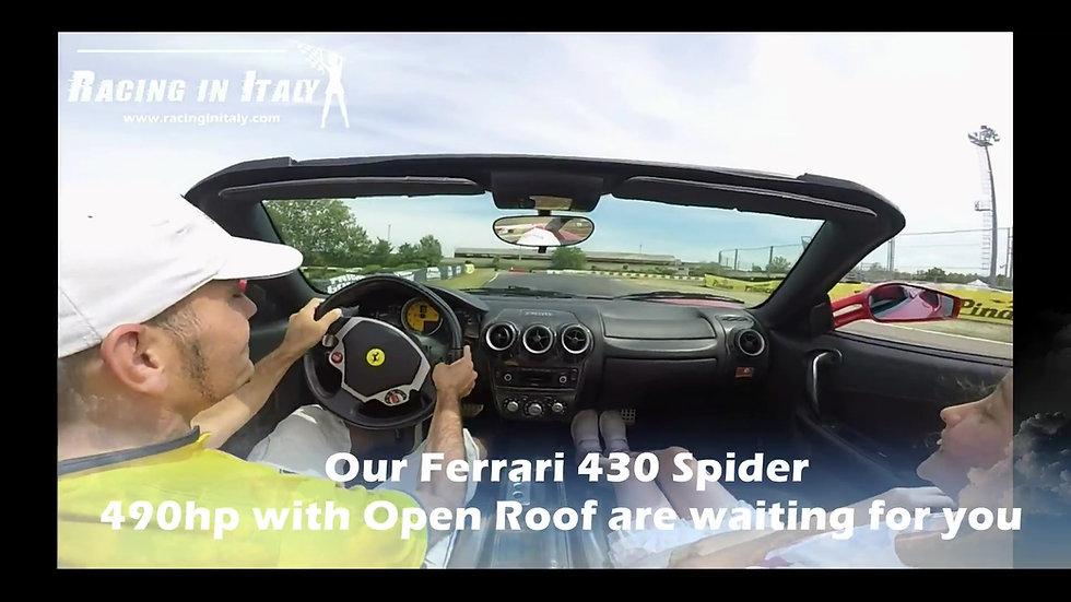 Guida una Ferrari 430 Spider vicino Milano