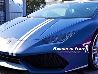 Hai mai pensato dove io posso girare con una Lamborghini? Con Racing in Italy.