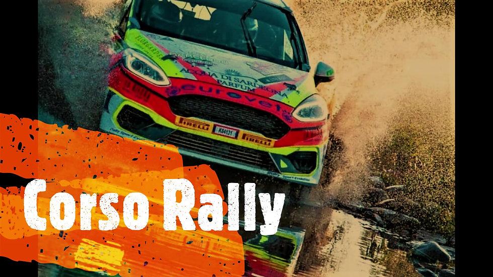 Corso di guida sportiva da Rally con campione Renato Travaglia