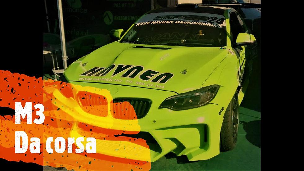 bmw macchina da corsa gara campionato ATCC