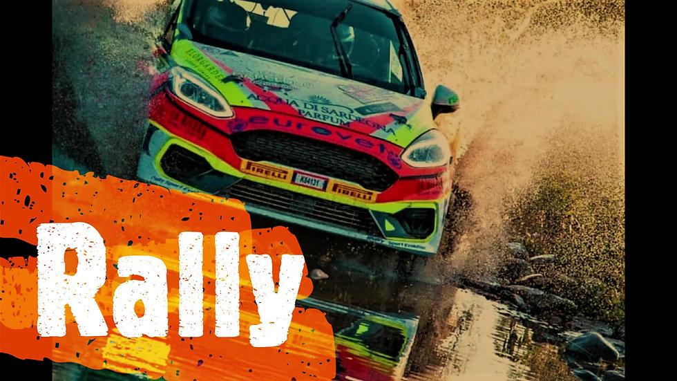 Rally Racing Course on Asphalt or Dirt | Italy