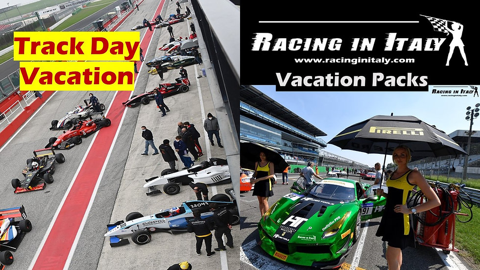 Race Track Day in italy