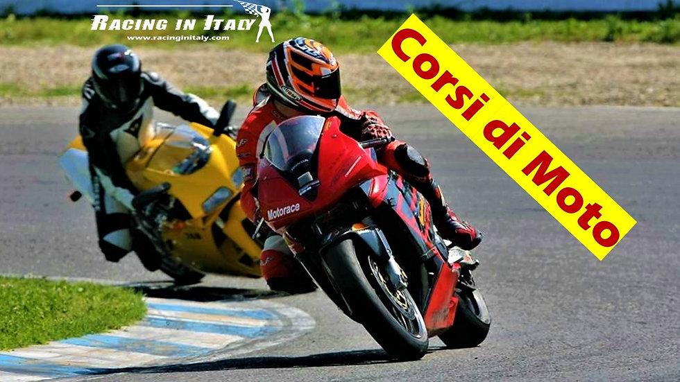 Corso di guida sportiva su Moto | Italia