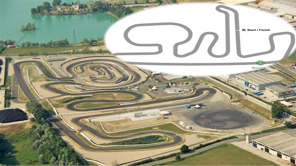 race track in italy