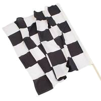checker flag race