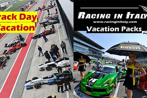 Race Track Days Vacation for Super Car Owners