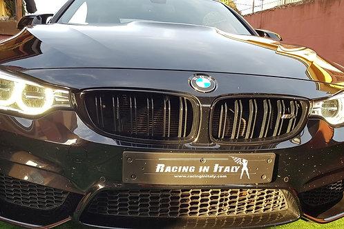 Тест-Драйв BMW M4 Competition Cabrio на гоночном треке рядом с Миланом
