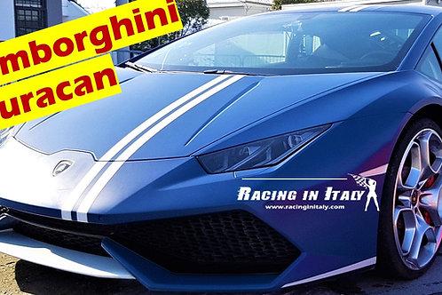 Тест-драйв Lamborghini Huracan Avio в Италии