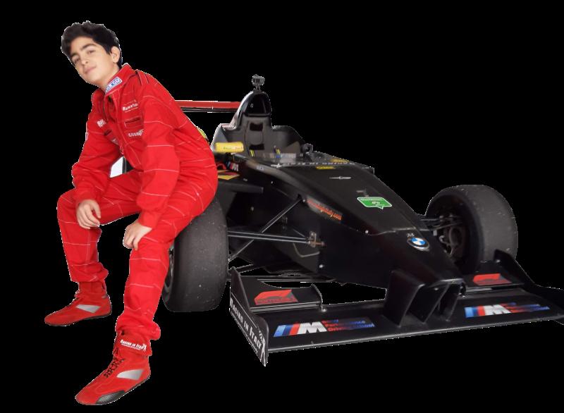 Formula 4 italian championship Mei Shibi