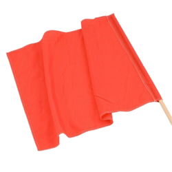 red racing flag