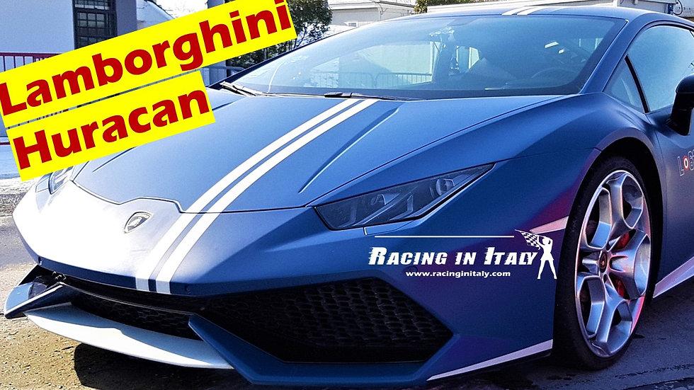 Guida Lamborghini Huracan Avio in pista include video | Tutta Italia
