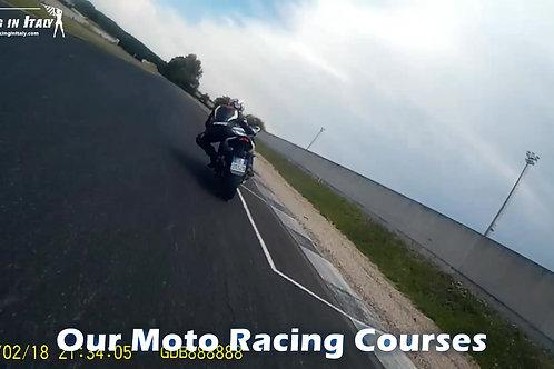 Гоночный мото-курс рядом с Миланом,Италия
