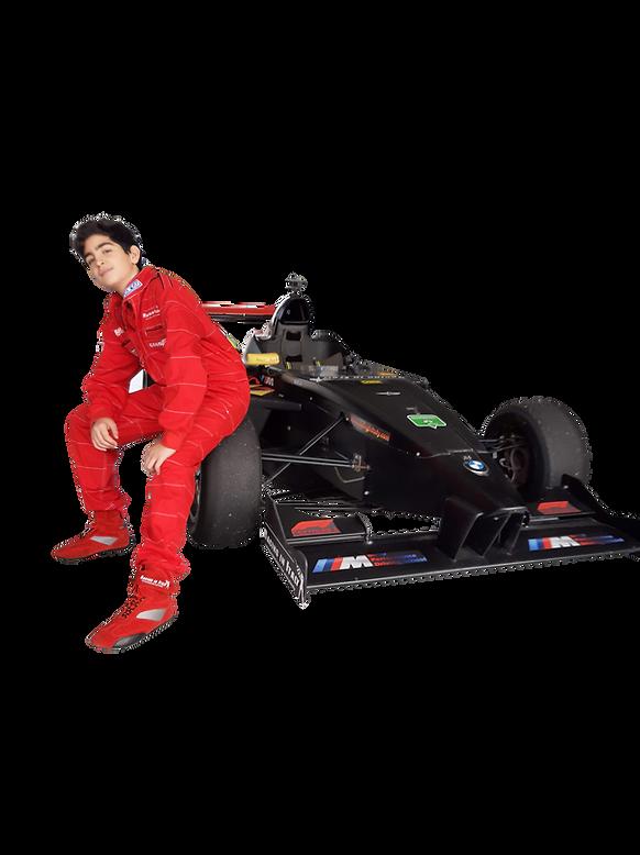 mei shibi pilota formula 4 bmw FX italian series