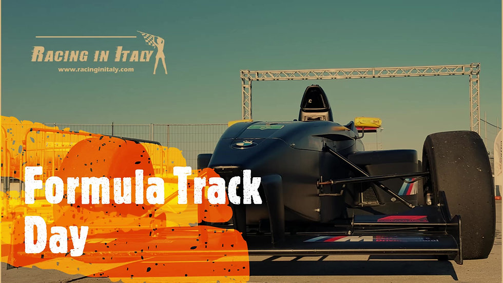 Track day with a Formula 4 in Italy and Europe