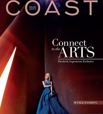 Coast Magazine Cover Shoot for Mrs. Segerstrom