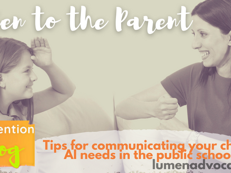 Services consistent with a child's hearing impairment & how to get them