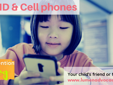Make friends with cell phones.