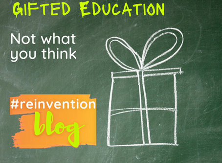 Exceptional kids: gifted education is like special education