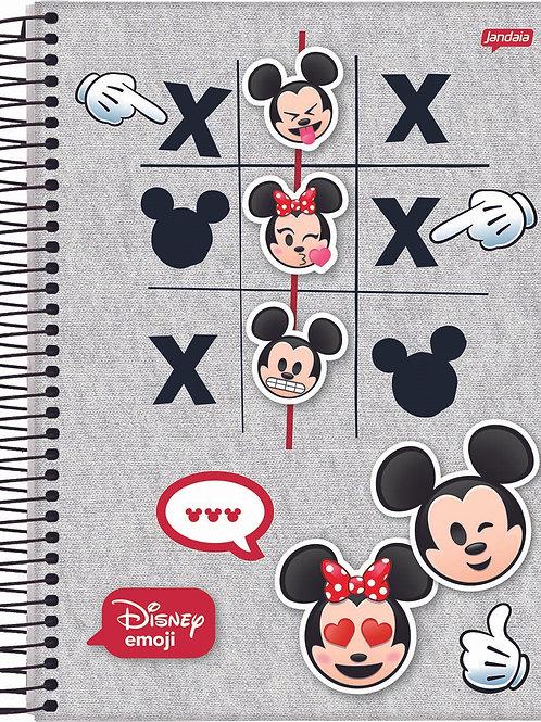 Caderno Universitário Disney Emoji 1 Matéria 80 Folhas