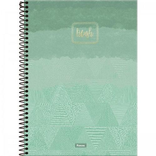Caderno Capa Dura 1 Matéria 96 Folhas College Blush