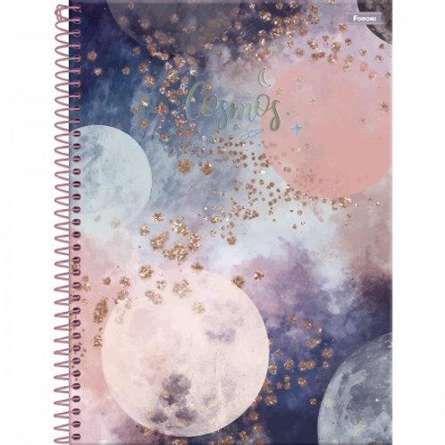 Caderno Universitário Cosmos 10 Matérias 160 Folhas