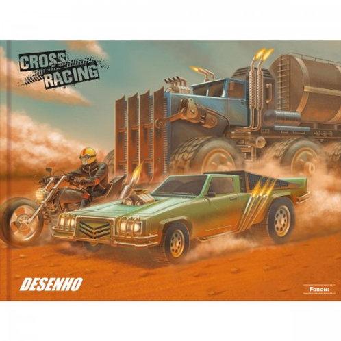 Caderno Pedagógico Desenho Cross Racing