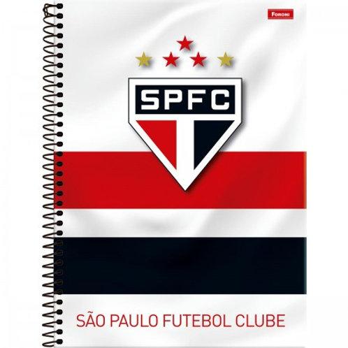 Caderno Universitário São Paulo 10 Matérias 200 Folhas