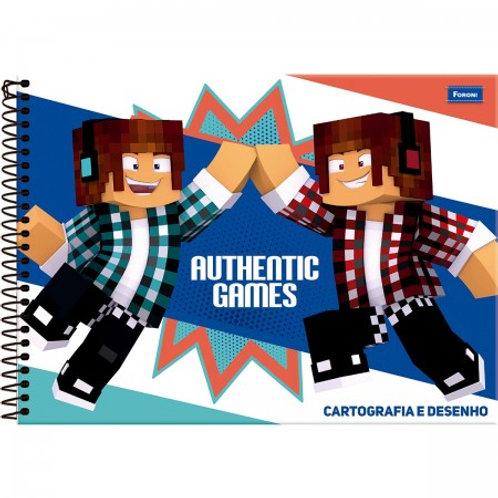 Cartografia Capa Dura Authentic Games