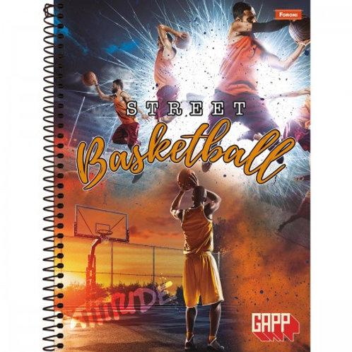 Caderno Universitário Capa Dura Gapp 15 Matérias 300 Folhas