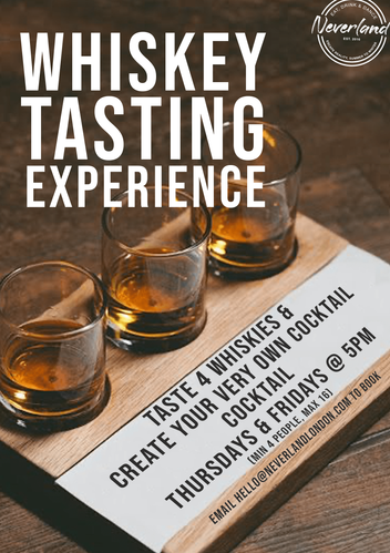 Whiskey Tasting Experience