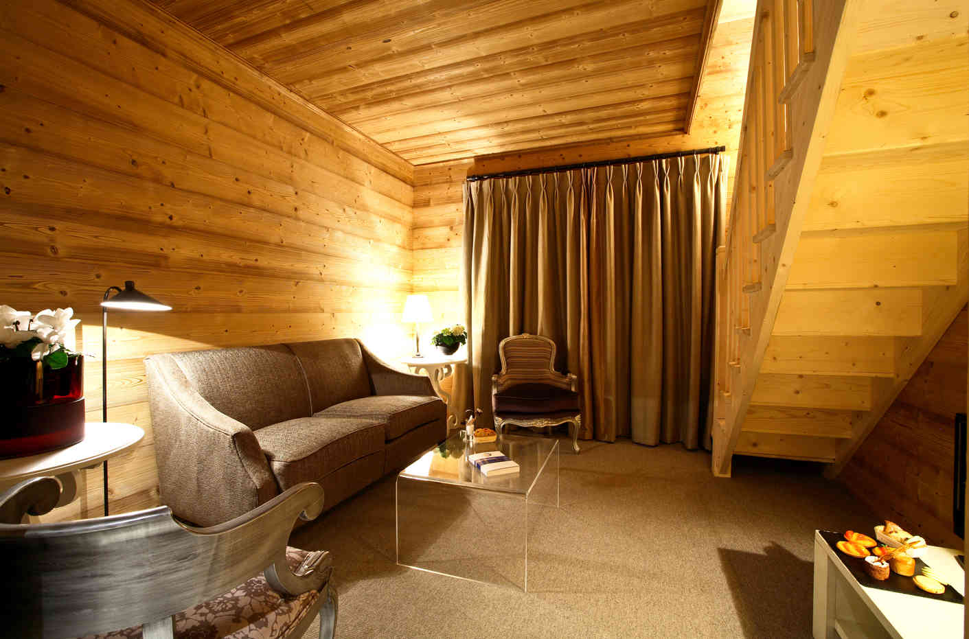 Le Chalet Blanc Bedroom